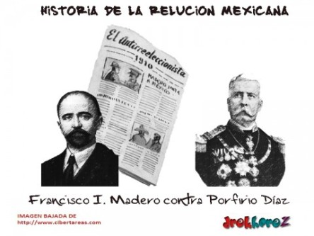 Francisco I. Madero contra Porfirio Díaz – Historia de la Revolución Mexicana, 1910