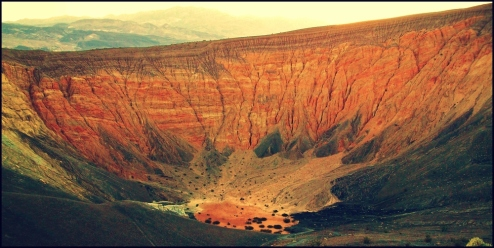 Uhebebe Crater, Death Valley, California, USA 2011; Credit: PurePosePhoto