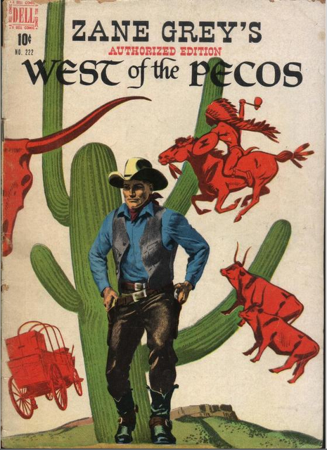 West of the Pecos - Comics