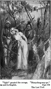 Helen being captured by Indians - By J Watson Davis